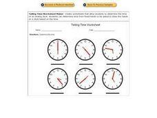 Printables Time Worksheet Generator time worksheet generator davezan telling davezan