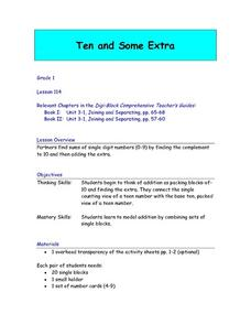 Ten And Some Extra Lesson Plan