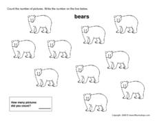 Ten Bears Worksheet