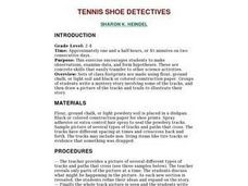 Tennis Shoe Detectives Lesson Plan