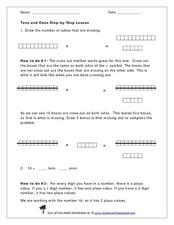 Tens and Ones Worksheet