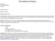 Tessellation Project Lesson Plan