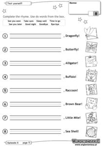 Test Yourself: Writing Sentences 2 Worksheet