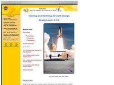 Testing and Refining Aircraft Design Lesson Plan