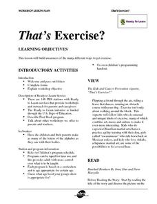 That's Exercise? Lesson Plan