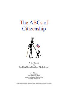 The ABCs of Citizenship Lesson Plan