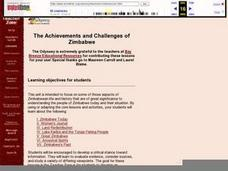The Achievements and Challenges of Zimbabwe Lesson Plan