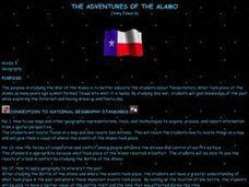 The Adventures of the Alamo Lesson Plan