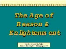 The Age of Reason and Enlightenment Presentation