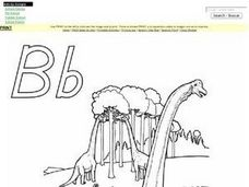 The Alphabet Letter Bb Worksheet