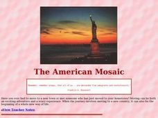 The American Mosaic Lesson Plan