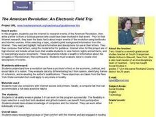 The American Revolution: An Electronic Field Trip Lesson Plan