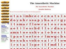The Anesthetic Machine Worksheet