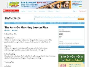 The Ants Go Marching Lesson Plan