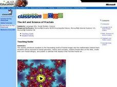The Art and Science of Fractals Lesson Plan