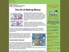 The Art of Making Money Lesson Plan