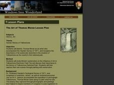 The Art of Thomas Moran Lesson Plan Lesson Plan