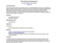 The Artist As Entrepreneur: You Say Tomato, I See Tomato Lesson Plan
