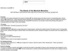 The Attack of the Manhole Monsters Lesson Plan
