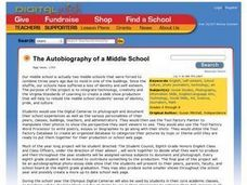 The Autobiography of a Middle School Lesson Plan