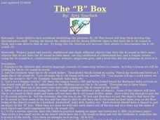 "The ""B"" Box Lesson Plan"