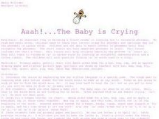 The Baby is Crying Lesson Plan