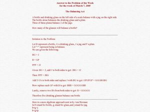 Printables Balancing Act Worksheet act worksheet davezan balancing davezan