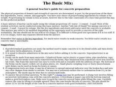 The Basic Mix Lesson Plan