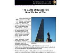 The Battle of Bunker Hill: Now We Are at War (42) Lesson Plan