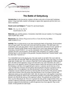 The Battle of Gettysburg Lesson Plan