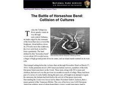 The Battle of Horseshoe Bend: Collision of Cultures (54) Lesson Plan