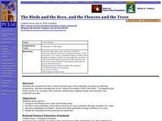 The Birds and the Bees, and the Flowers and the Trees Lesson Plan