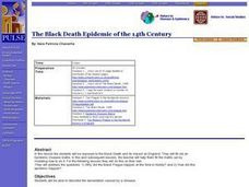 The Black Death Epidemic of the 14th Century Lesson Plan