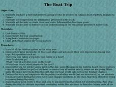 The Boat Trip Lesson Plan