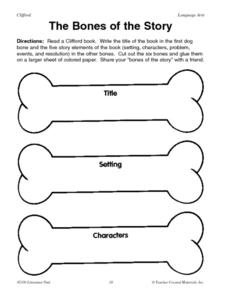 The Bones of a Story Lesson Plan