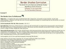 The Border Goes to Hollywood Lesson Plan