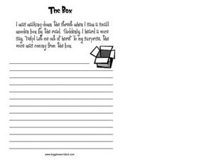"""The Box"" Worksheet"