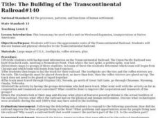 The Building of the Transcontinental Railroad#140 Lesson Plan