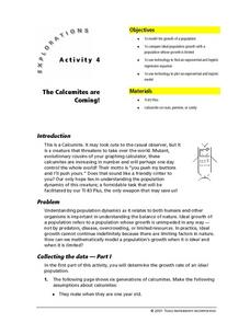 The Calcumites are Coming! Lesson Plan
