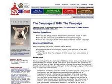 The Campaign of 1840: The Campaign Lesson Plan