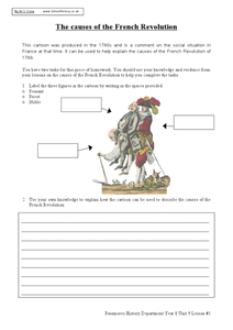 Worksheets French Revolution Worksheets french revolution teaching resources 25 48 the causes of revolution