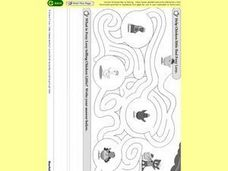 The Chicken Maze Worksheet