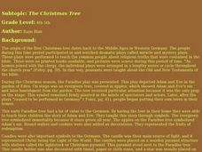 The Christmas Tree Lesson Plan