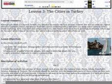 The Cities in Turkey Lesson Plan