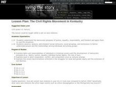 The Civil Rights Movement in Kentucky Lesson Plan