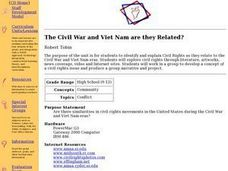 The Civil War and Viet Nam are they Related? Lesson Plan
