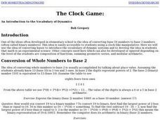 The Clock Game Lesson Plan