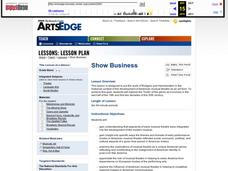 The Collaborative Works of Rodgers and Hammerstein: Show Business Lesson Plan