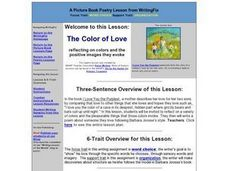 The Color of Love Lesson Plan