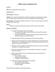 Printables Constitutional Convention Worksheet the constitutional convention part 4 5th grade worksheet lesson worksheet